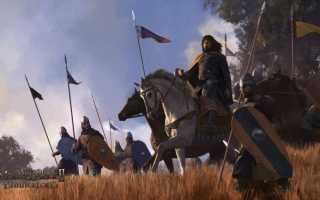 Mount and Blade 2: Bannerlord — Сегодня выходит в раннем доступе