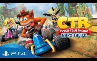 Crash Team Racing: Продемонстрирован геймплейный видео-ролик