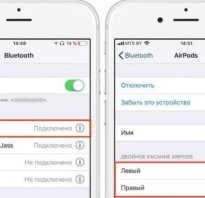 Инструкция для AirPods на русском