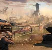 Карта мира Atom RPG — мертвый город, ущелье Бед