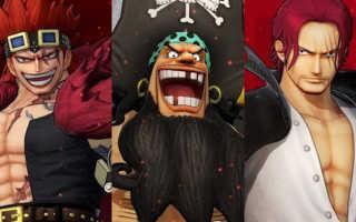 One Piece: Pirate Warriors 4 — Koei Tecmo выпустила 3 новых трейлера