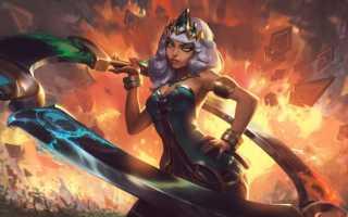 League of Legends: Киана — повелительница стихий новый чемпион