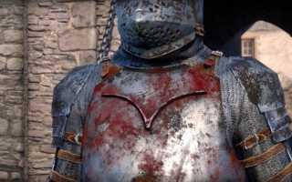 Как отмыть меч в Kingdom Come: Deliverance