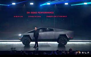 Cyberpunk 2077 — Мог представить пикап Tesla Элона Маска
