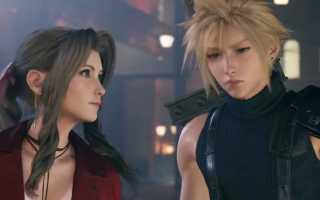 Final Fantasy VII Remake – Сравнение моделей персонажей