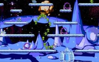 Снежок: Приключения в космосе